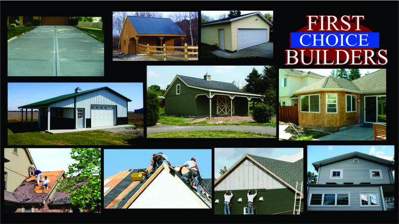 Services for 1st choice builders